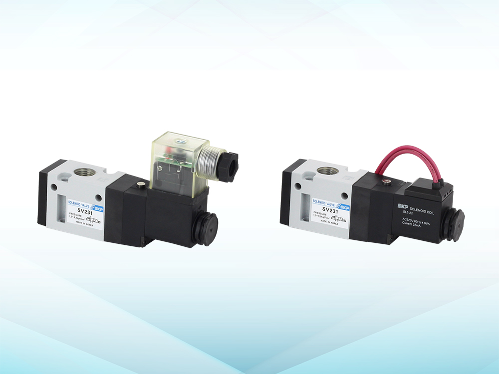 3port Pilot Operated Solenoid Valve (SV231~232 Series)