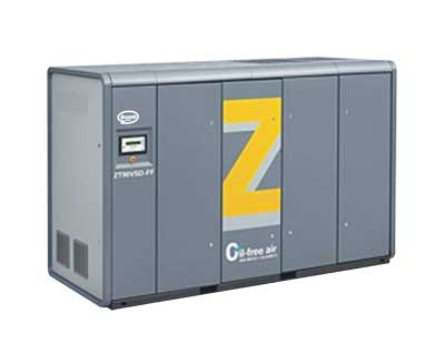 ZR Series Oil-free Screw Air Compressor